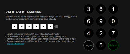 cara login poker99, buat pin poker99