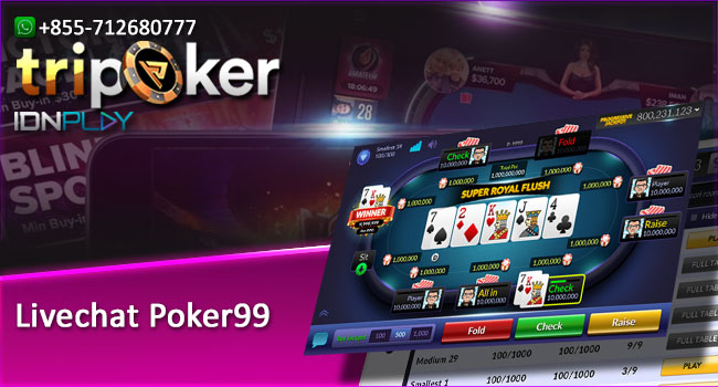 Livechat Poker99
