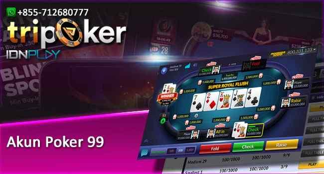 Akun Poker 99